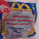 McDonalds Happy Meal Animal Pals Brown Bear toy*