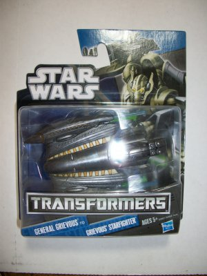 STAR WARS TRANSFORMERS: GENERAL GRIEVOUS to STARFIGHTER