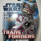 STAR WARS TRANSFORMERS: OBI-WAN to STARFIGHTER