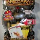 REDAKAI DELUXE GOLD METANOID Action Figure