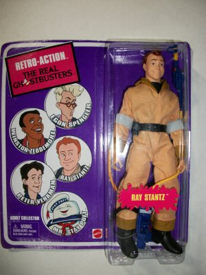 GHOSTBUSTER RETRO-ACTION RAY STANTZ Action Figure