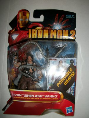 IRON MAN 2 WHIPLASH Action Figure