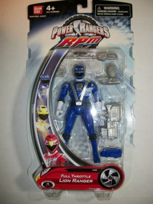 POWER RANGERS RPM LION Action Figure