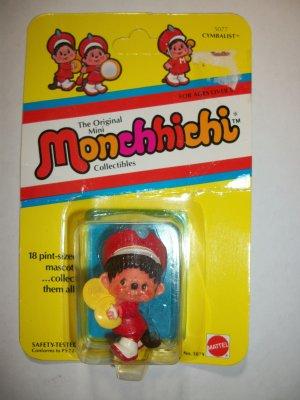 MONCHHICHI CYMBALIST MINI-FIGURINE