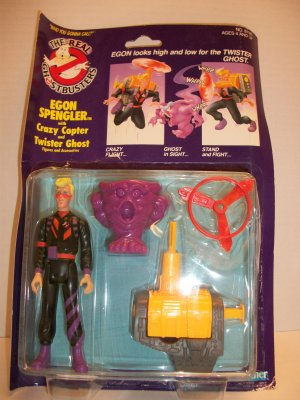 GHOSTBUSTERS 1990 EGON SPENGLER POWER PACK Action Figure