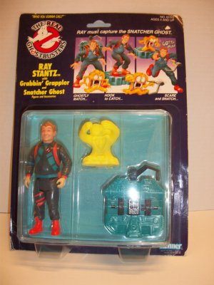 GHOSTBUSTERS 1990 RAY STANTZ POWER PACK Action Figure