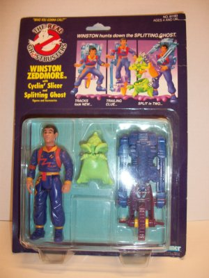 GHOSTBUSTERS 1990 WINSTON ZEDDMORE POWER PACK Action Figure
