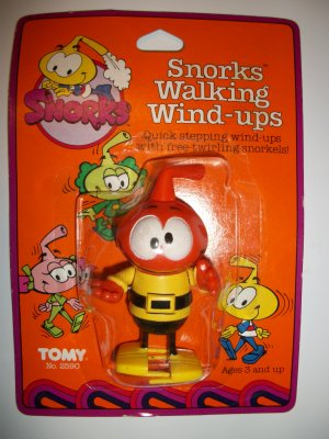 "SNORKS ""DIMMY"" WALKING WIND-UP Figure"