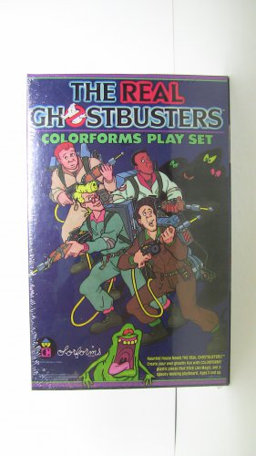 The Real Ghostbusters Colorforms SEALED 1986*