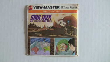 Star Trek View Master Reels - Mr. Spock's Time Trek 1974