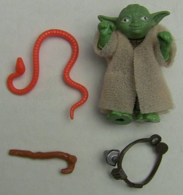 Star Wars Yoda Action Figure Vintage COMPLETE 1980*