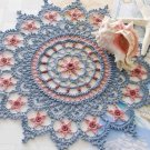 W368 Crochet PATTERN ONLY Follow the Stars Home Floral Doily Pattern Exquisite