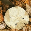 W472 Crochet PATTERN ONLY Sand Dollar Ornament Pattern