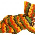 W443 Crochet PATTERN ONLY Bleeding Stripe Baby Bunting Pattern Dripping Paint