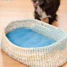 Y811 Crochet PATTERN ONLY Sweet Dreams Pet Bed Pattern