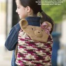 Y827 Crochet PATTERN ONLY Teddy Bear Backpack Pattern