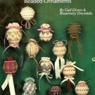 X066 Crochet & Knit PATTERN ONLY 12 Beaded Christmas Ornament Cover Pattern RARE