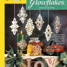 W088 Plastic Canvas PATTERN ONLY Christmas Glowflakes Snowflake Ornament Pattern