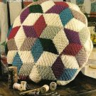 Y240 Crochet PATTERN ONLY Quilted Diamonds Pillow Pattern