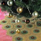 Y952 Crochet PATTERN ONLY Rose Motif Christmas Tree Skirt Pattern