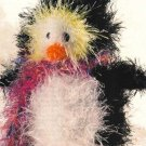 X582 Crochet PATTERN ONLY Chills the Baby Penguin Pattern Toy Doll Pattern