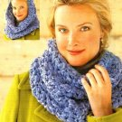 X015 Crochet PATTERN ONLY Wintery Cowl Pattern