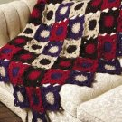 Y137 Crochet PATTERN ONLY Inside-Out Afghan Pattern