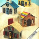 X543 Plastic Canvas PATTERN ONLY Village & Knit Child Sweetheart Sweater Pattern