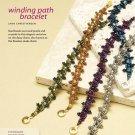X386 Bead PATTERN ONLY Beaded Winding Path Bracelet Pattern
