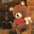 Y357 Crochet PATTERN ONLY Sweetheart Valentine Bear Doll Toy Pattern