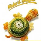 Y347 Crochet PATTERN ONLY Turtle Fridgies or Ornaments Patterns
