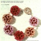 Y212 Bead PATTERN ONLY Fluffy Floral Beads & Bracelet Pattern