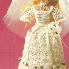 Y003 Crochet PATTERN ONLY An Heirloom Wedding Gown Barbie Fashion Doll