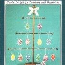X859 Crochet PATTERN Book ONLY Crocheted Eggs Easter Ornament Rare