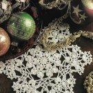 X518 Crochet PATTERN ONLY Snowflake Doily Patterns