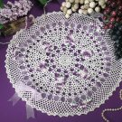 W232 Crochet PATTERN ONLY Bunches of Grapes Doily Pattern