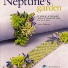 Y215 Bead PATTERN ONLY Beaded Neptune's Garden Floral Bracelet Pattern