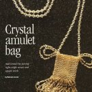 Y105 Bead PATTERN ONLY Beaded Crystal Amulet Bag