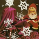 X396 Crochet PATTERN Book ONLY Cotton Crochet The Look of Yesteryear Ornament