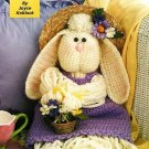 X507 Crochet PATTERN ONLY Mop Doll Bunny Rabbit Toy Pattern