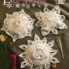 X373 Crochet PATTERN Book ONLY 8 Pincushion Snowflakes Pattern Annie's Attic