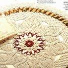 X134 Crochet PATTERN ONLY Noel Centerpiece Doily Pattern Christmas