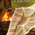 Y853 Crochet PATTERN ONLY Fall Breeze Striped Panel Afghan Throw Pattern