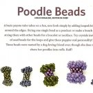 X294 Bead PATTERN ONLY Beaded Poodle Bead Pattern