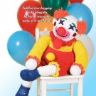 X211 Crochet PATTERN ONLY Ko-Ko the Clown Doll Pattern