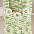 W256 Crochet PATTERN ONLY Clothespin Bag and Scrubbie Dress Soap Cover Pattern