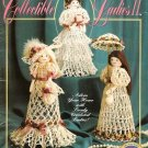 X889 Crochet PATTERN Book ONLY Collectible Ladies II, 3 Dolls Decoration