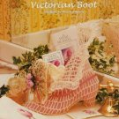 X005 Crochet PATTERN ONLY Victorian Boot Home Decor Ornament Pattern