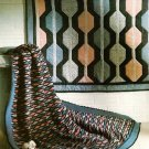 Y639 Crochet/Quilt PATTERN ONLY Ocean Waves Afghan and Quilt Patterns