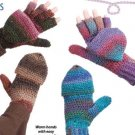 Y101 Crochet PATTERN ONLY Snap-On Gloves or Mittens